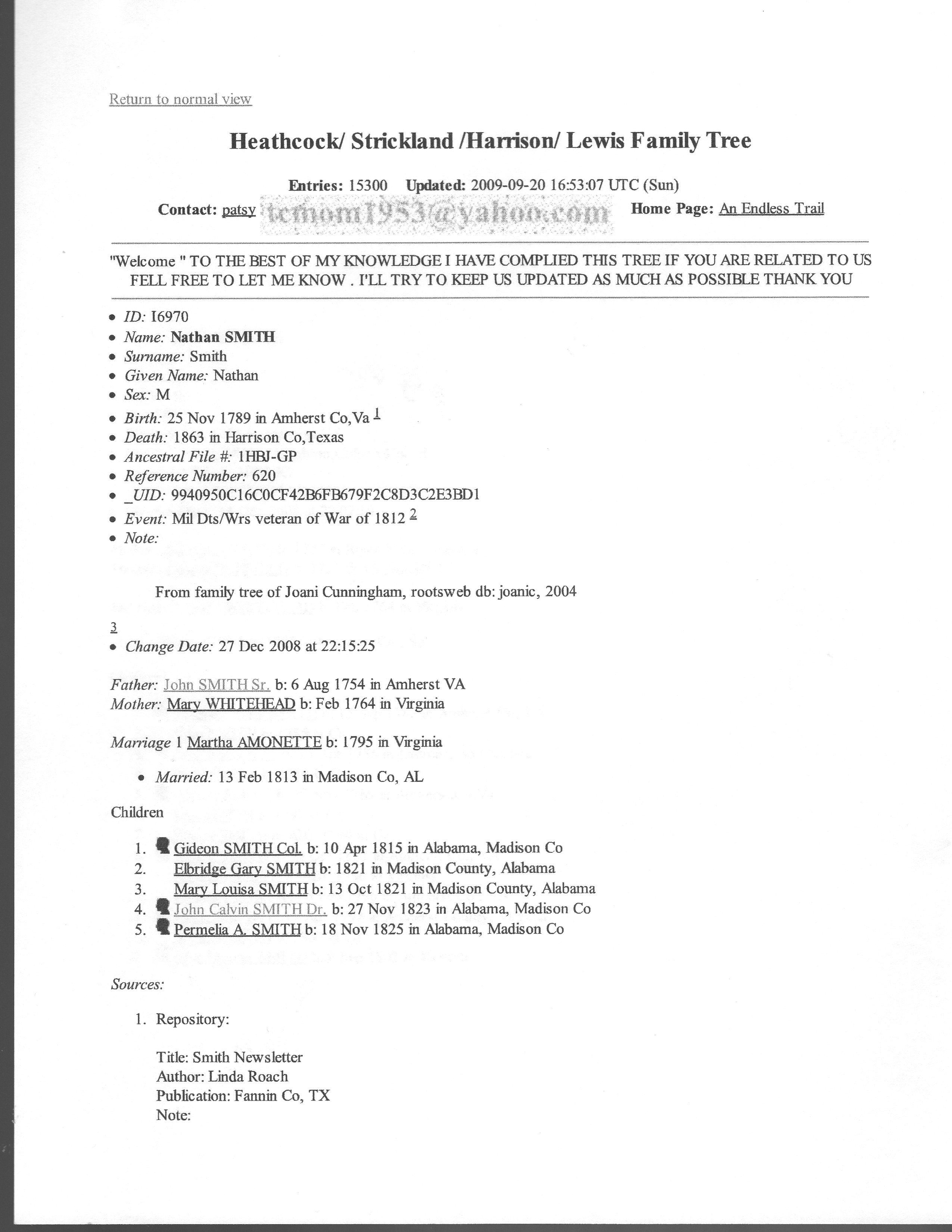 Documents 3 our family story merle m smith death certificate xflitez Choice Image